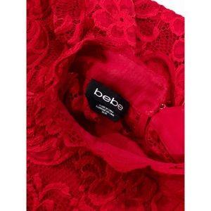 BEBE Women's Lace Top (M)